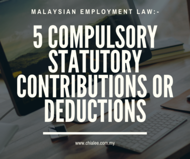 Employment Law: 5 Compulsory Statutory Contributions or Deductions