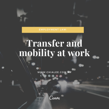 Employment Law: Transfer and Mobility at Work