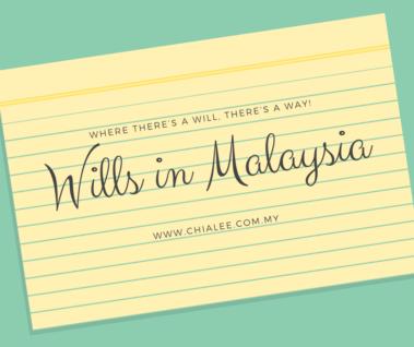 Wills in Malaysia