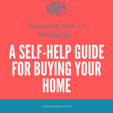 Property Law in Malaysia: A Self-Help Guide for Buying a Home
