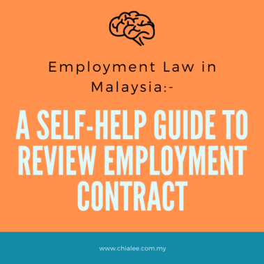 Employment Law: A Self-Help Guide to Review Employment Contract (for Employer)