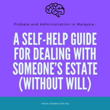 A Self-Help Guide for Dealing Estate (Without Will)