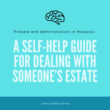 A Self-Help Guide for Dealing With Someone's Estate